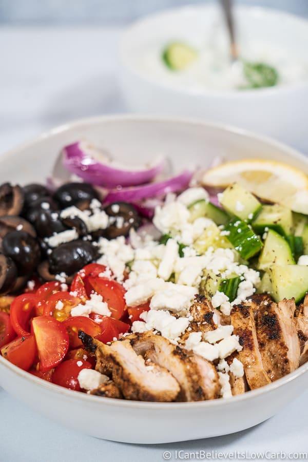 Easy Greek Chicken Bowl Recipe