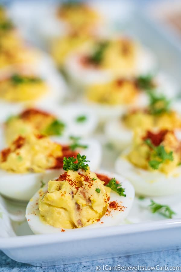 Keto Deviled Eggs recipe