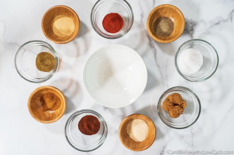 spices for keto dry rib rub