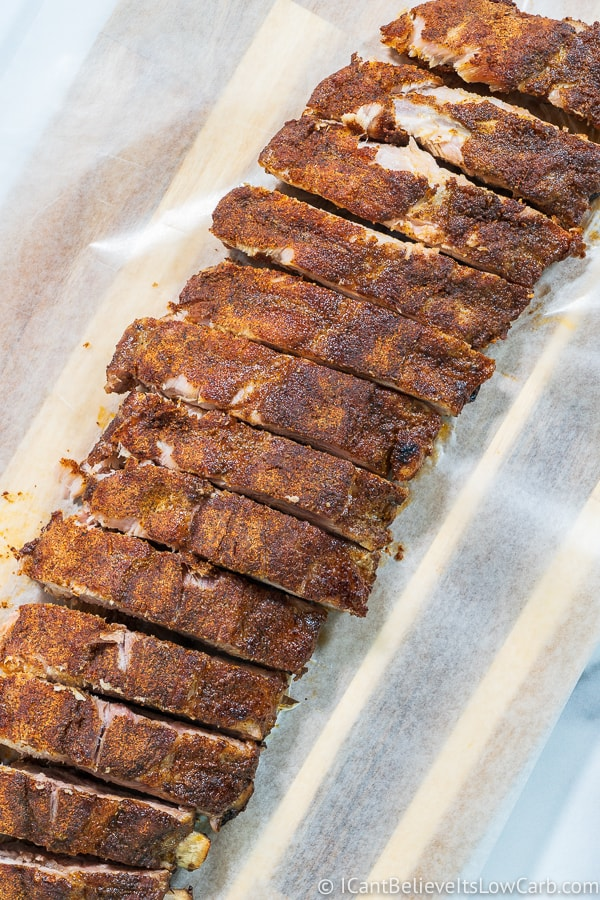 Dry-rubbed Baked Baby Back Ribs in Oven