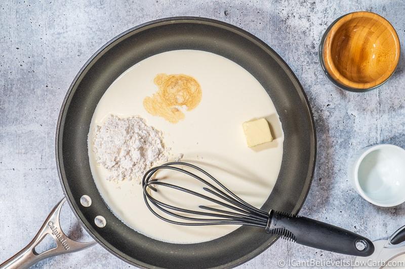ready to make Keto Condensed Milk Recipe