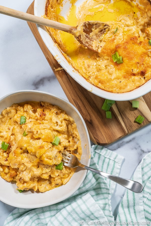 dishing out Keto Mac and Cheese Recipe