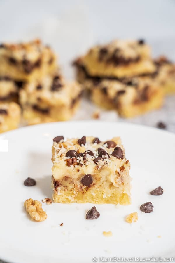Best Keto Magic Cookie Bars Recipe