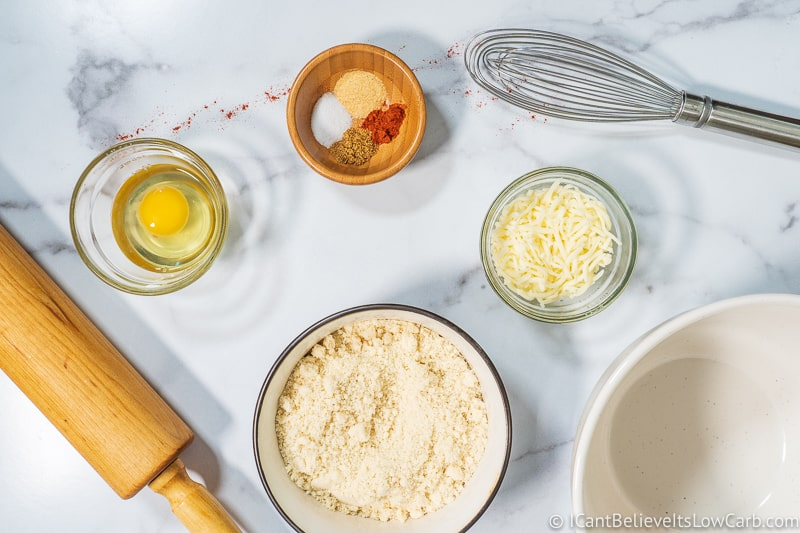 Keto Tortilla Chips ingredients