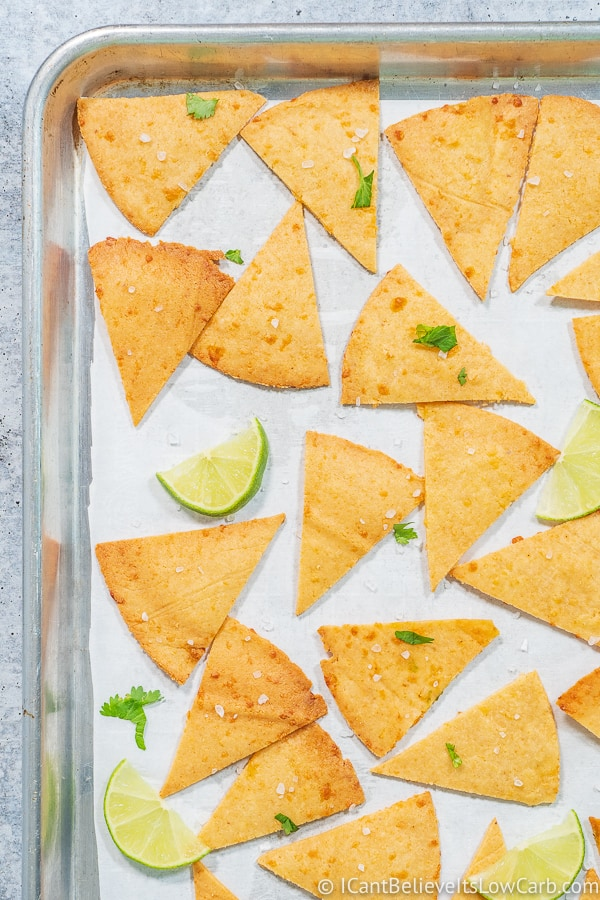 Keto Tortilla Chips low carb