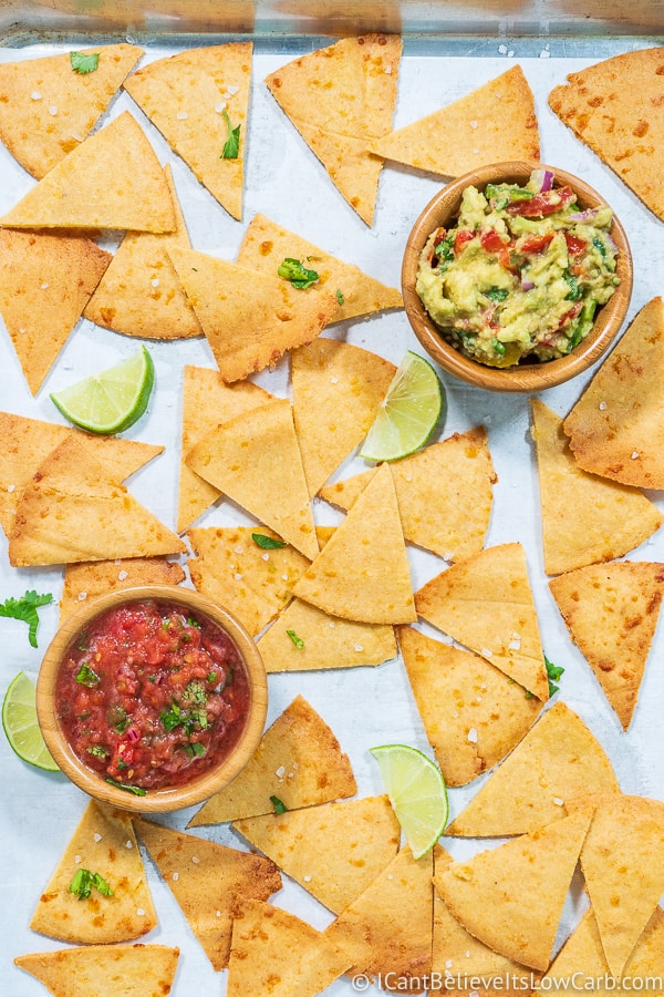 homemade Tortilla Chips Recipe low carb
