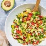 Low Carb Keto Avocado Salsa Recipe
