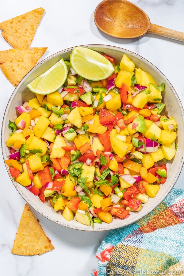 Keto Mango Salsa Recipe