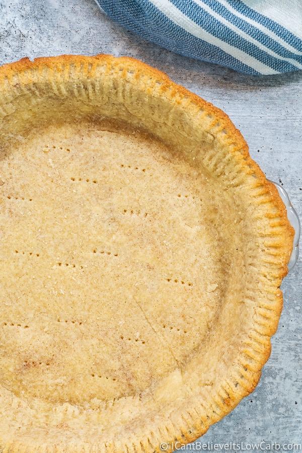 Keto Almond Flour Pie Crust