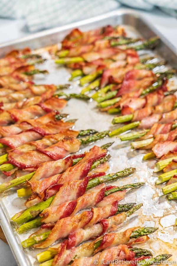 Bacon Wrapped Asparagus single stalks