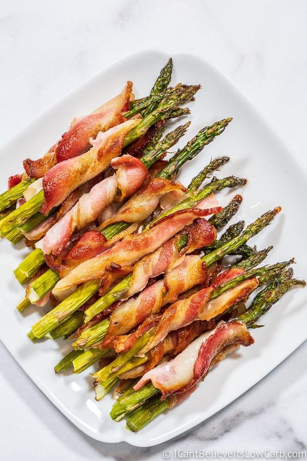 low carb Bacon Wrapped Asparagus recipe
