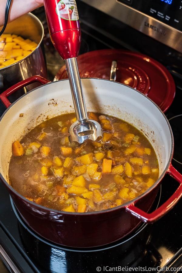 immersion blender for Butternut Squash Soup recipe