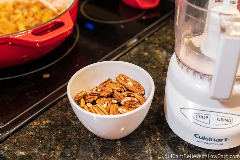 walnuts and low carb Crisp recipe