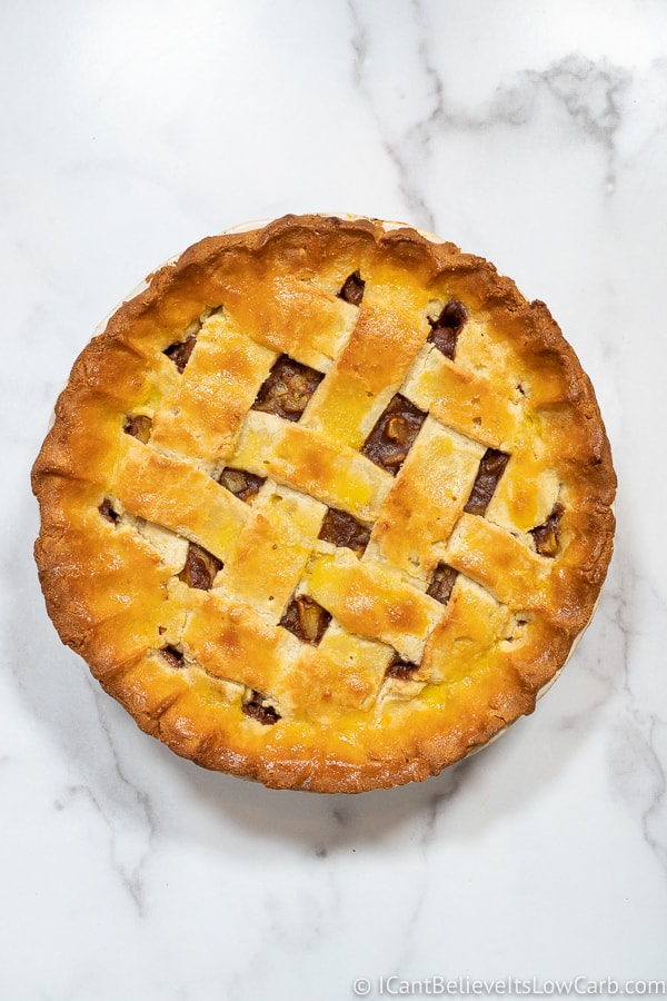 Cooked Keto Apple Pie