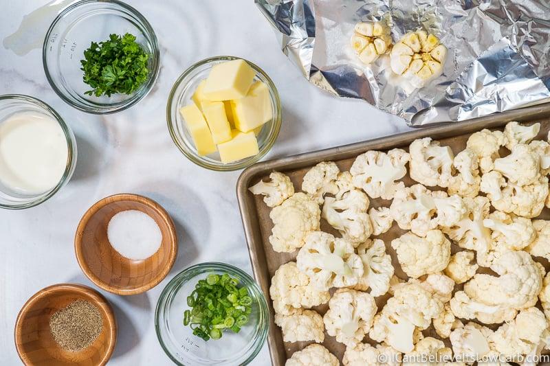 Cauliflower Mashed Potatoes ingredients