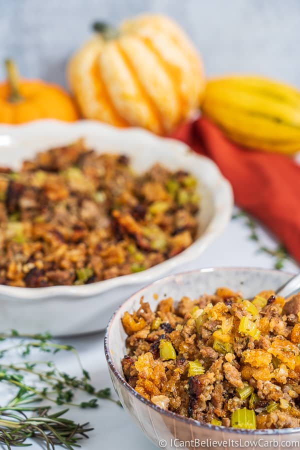 Easy Low Carb Stuffing Recipe