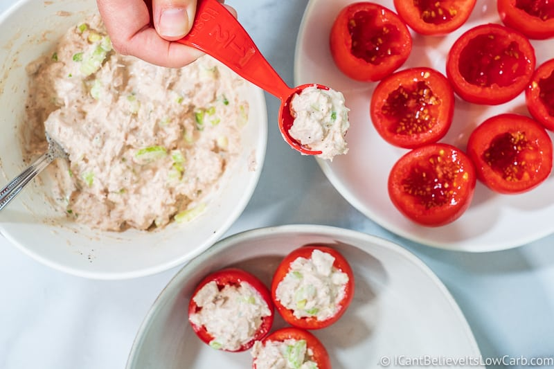 stuffing Tuna Stuffed Tomatoes Recipe