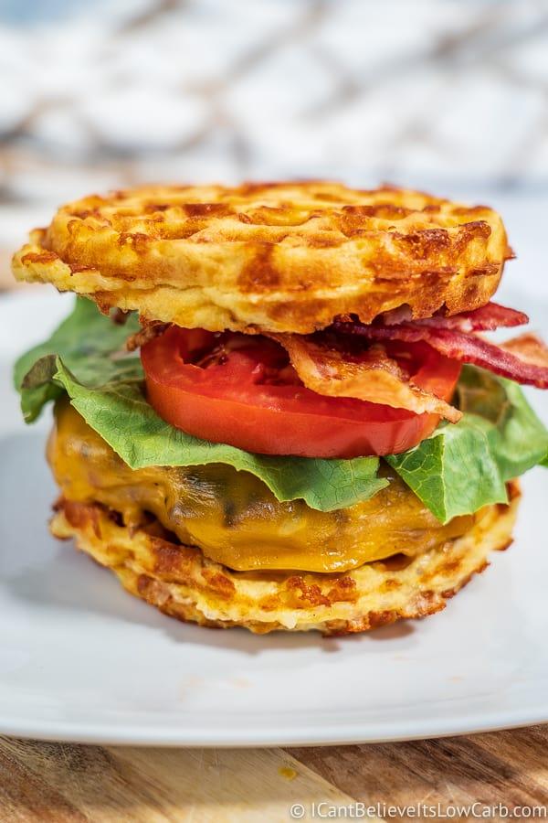 Chaffle Hamburger