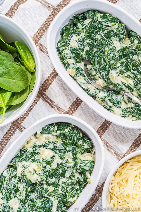 The Best Low Carb Creamed Spinach Recipe