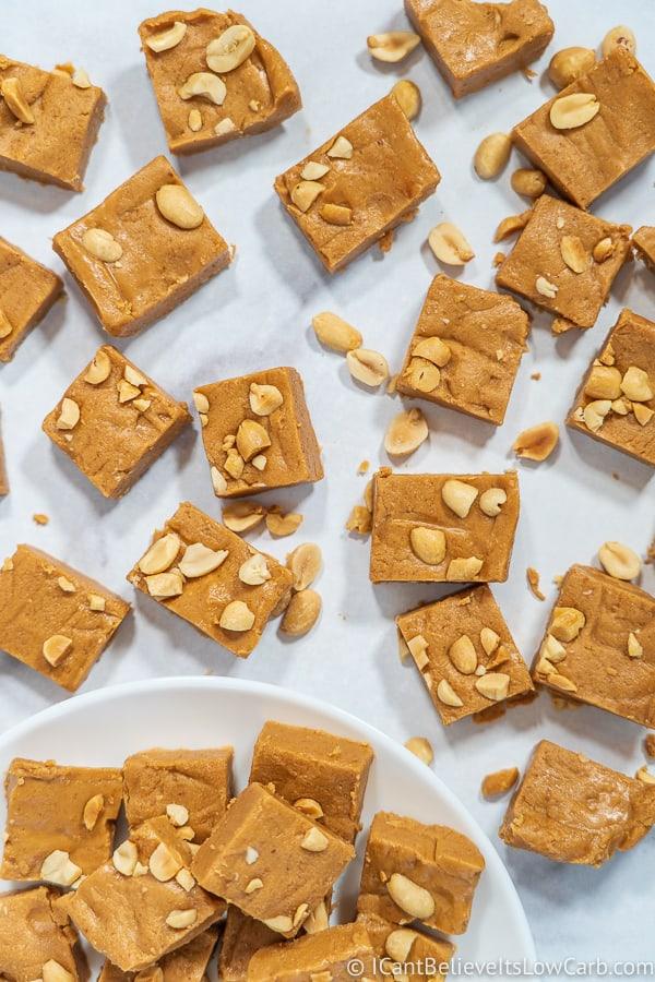 Keto Sugar-Free Peanut Butter Fudge Recipe