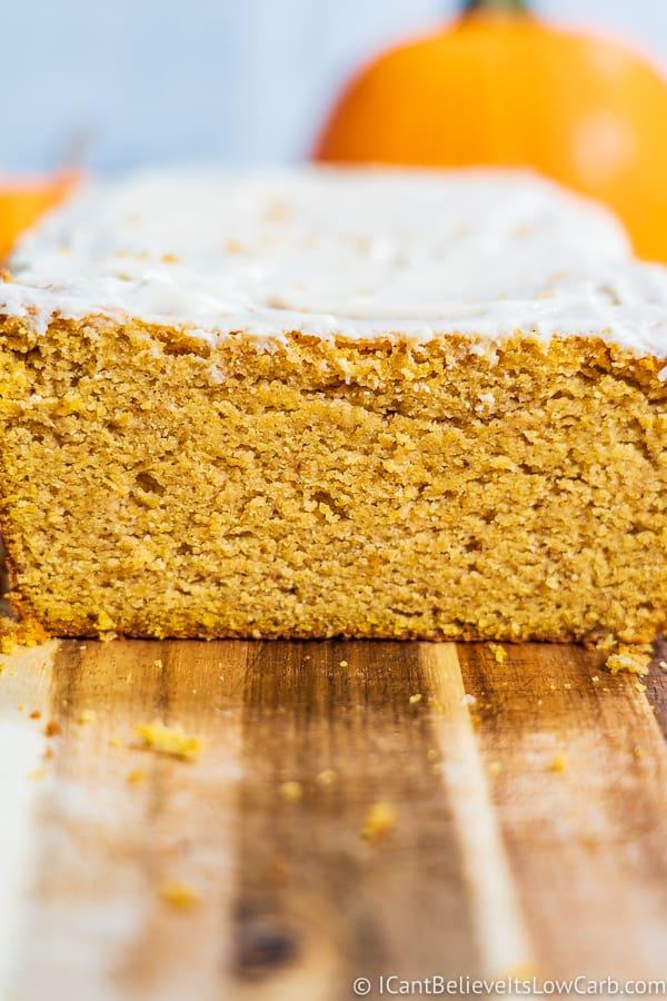 Easy Low Carb Pumpkin Bread
