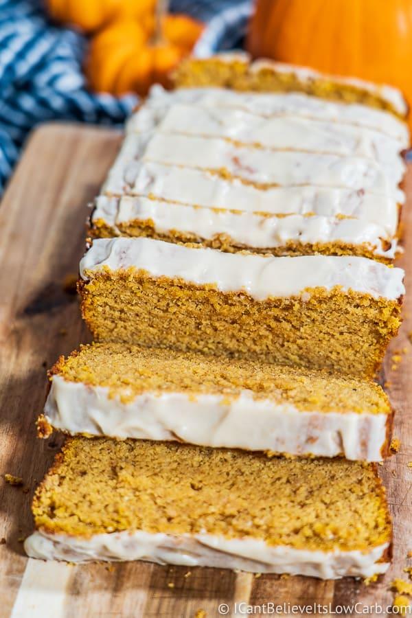 The Best Low Carb Pumpkin Bread