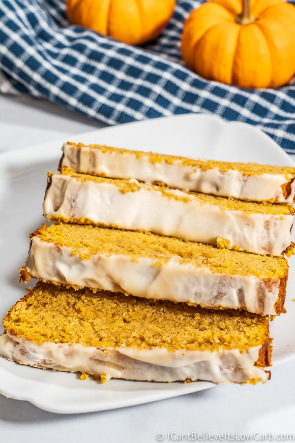 Keto Low Carb Pumpkin Bread