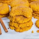 Pumpkin Snickerdoodle Cookies Low Carb