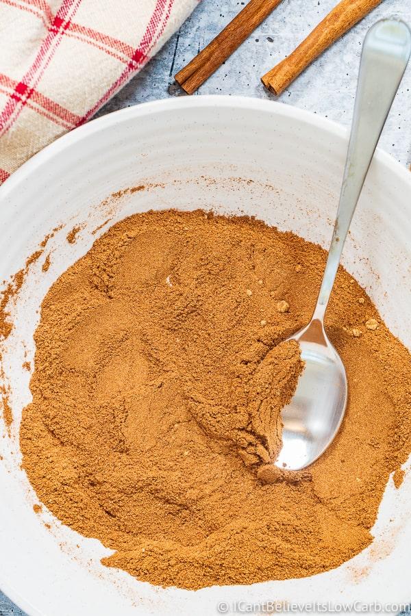 Pumpkin Pie Spice mixed in bowl