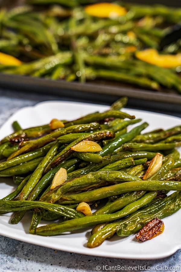 Keto Roasted Green Beans