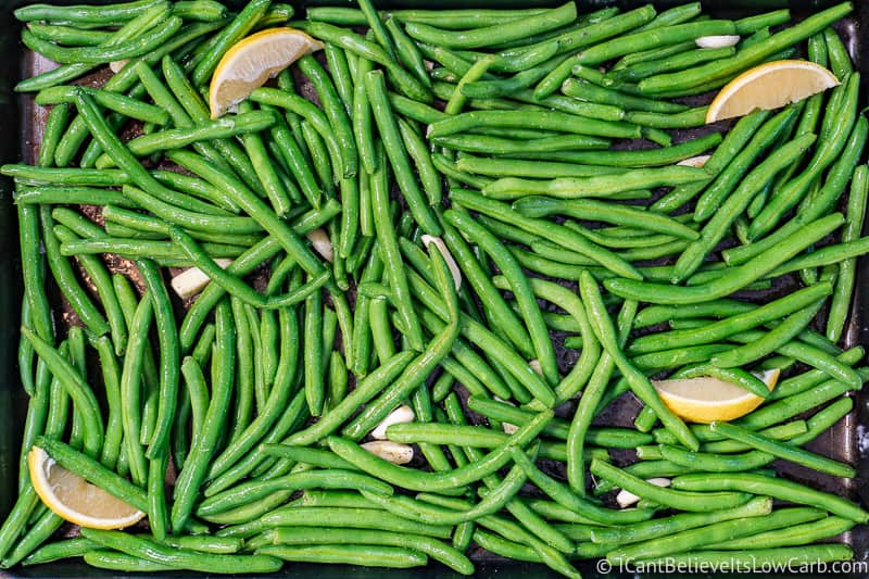ready to roast Green Beans
