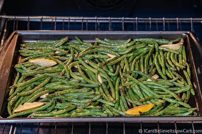 Roasting Green Beans in oven