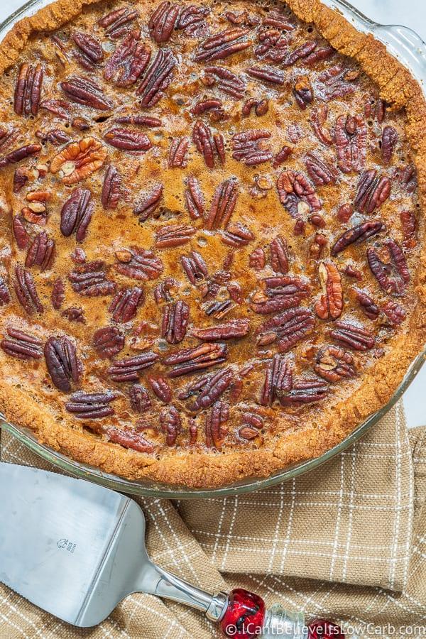 Sugar Free Pecan Pie Recipe