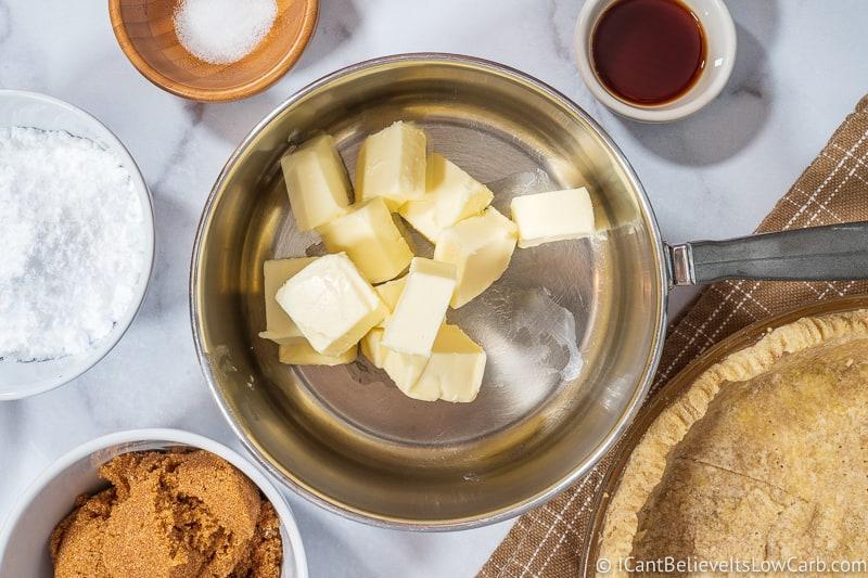 butter for Pecan Pie