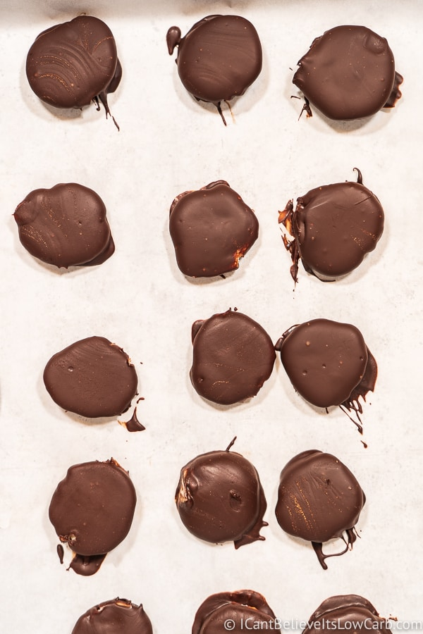 Sugar Free Keto Peppermint Patties