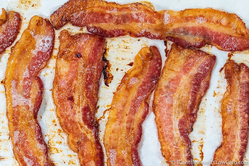 How to cook bacon in the oven, baked bacon