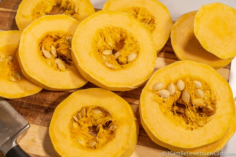 How to cook Spaghetti Squash in rings the best way