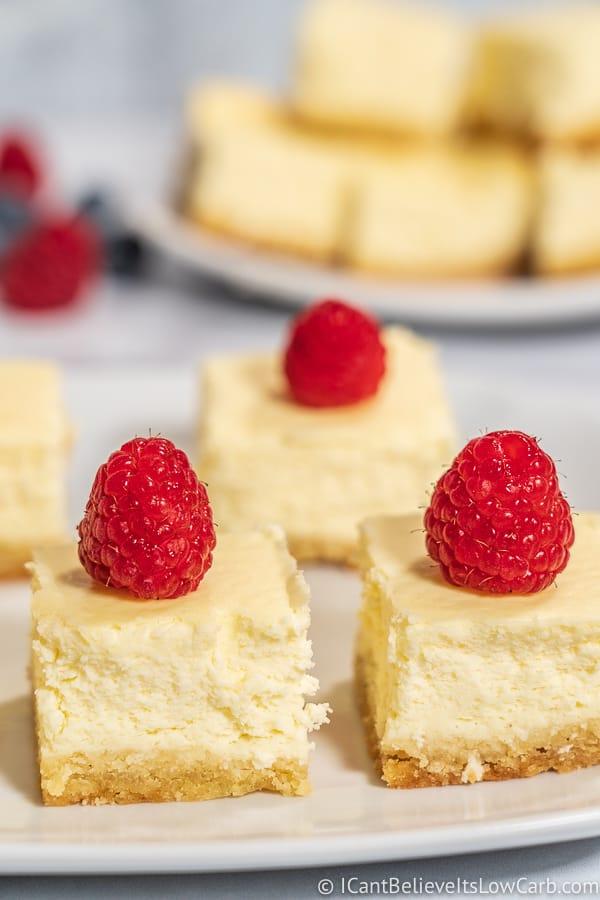 easy Keto Cheesecake Bars