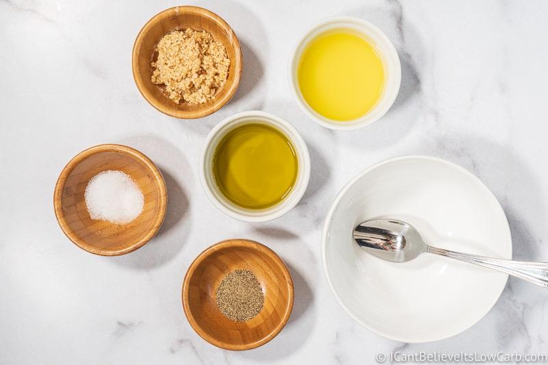 Garlic Parmesan sauce ingredients