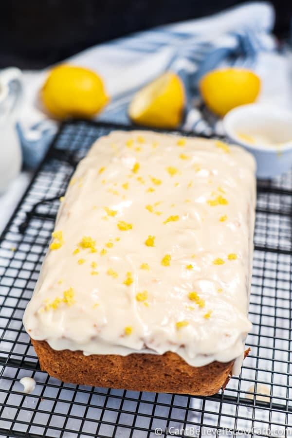 amazing homemade Keto Lemon Pound Cake