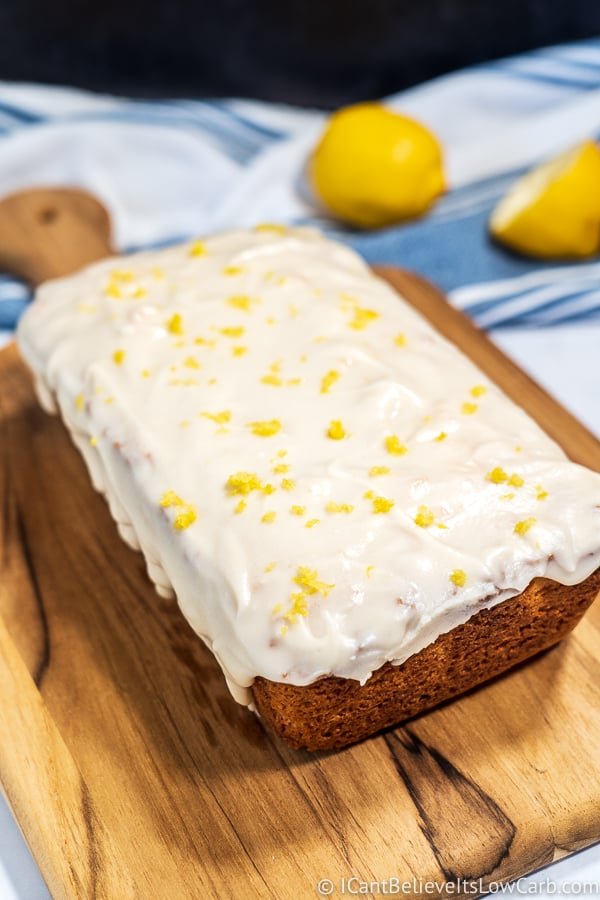 best homemade low carb Lemon Pound Cake