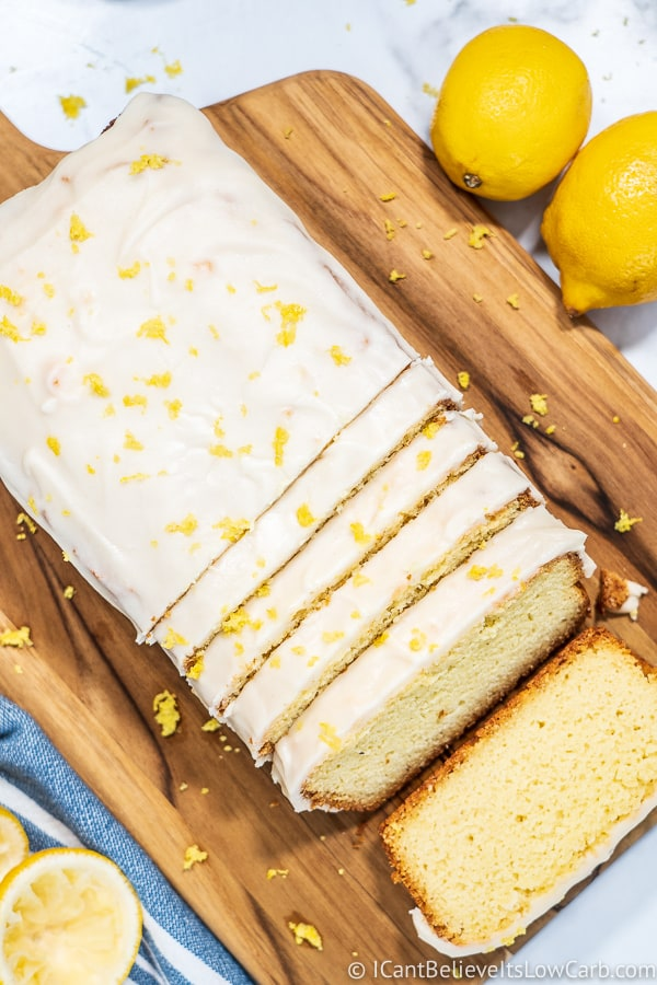 Low Carb Lemon Pound Cake recipe