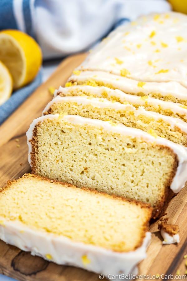 How to make Keto Lemon Pound Cake