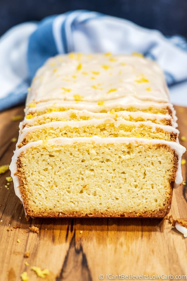 Low Carb Lemon Pound Cake