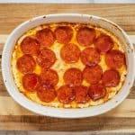 Keto Pizza Dip image