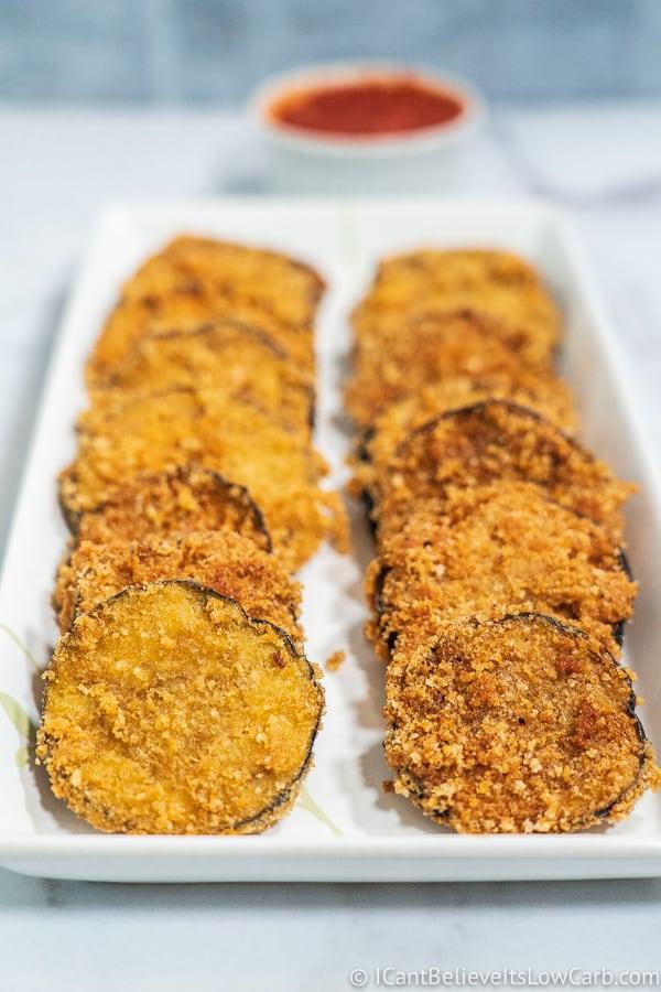 Keto Fried Eggplant Recipe