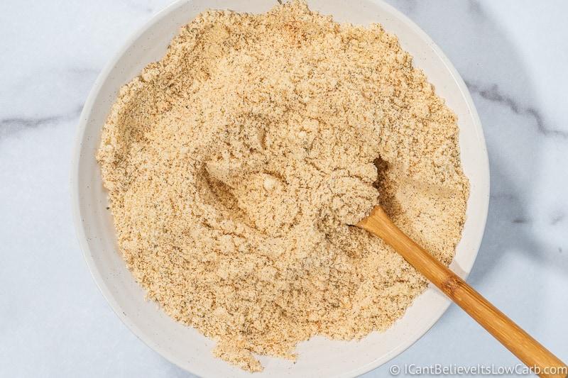 Keto Chicken Nuggets flour mixture