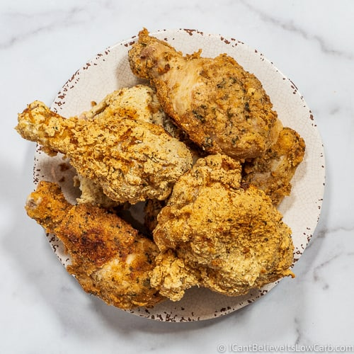 Crispy Keto Fried Chicken Recipe Easy Gluten Free