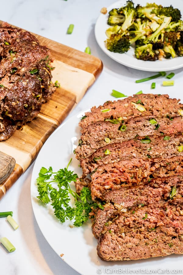 easy Keto Meatloaf recipe
