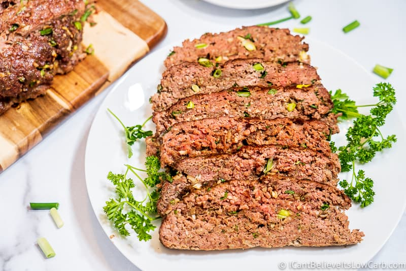 Keto Meatloaf FB
